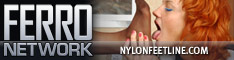www.nylonfeetline.com - Everything about female feet in nylon